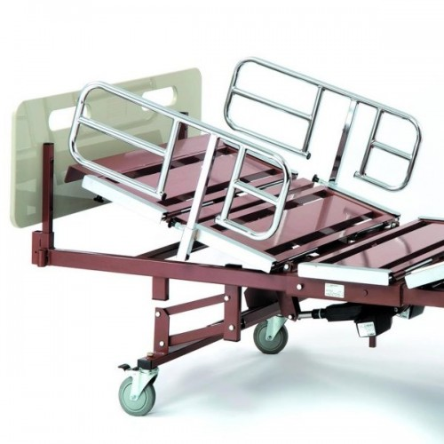 Invacare Bariatric Bed Package (750 lbs) with rails