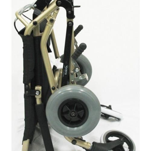 Wheels of Karman Portable Travel Transport Wheelchair
