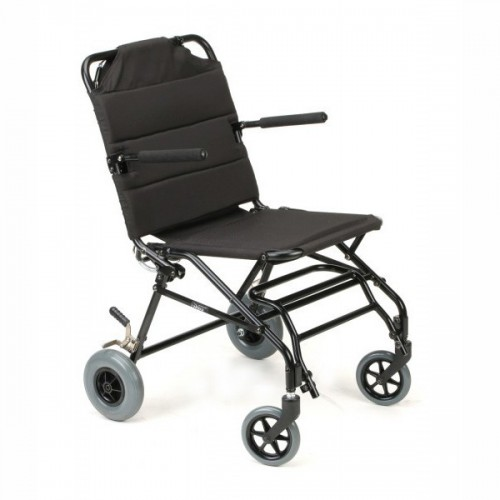 Black Karman Portable Travel Transport Wheelchair