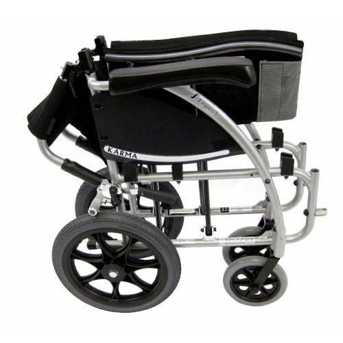 Folded Karman S-Ergo 115TP Transport Wheelchair