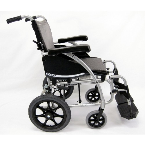Side view of Karman S-Ergo 115TP Transport Wheelchair
