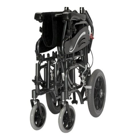 Folded Karman VIP-515 Tilt In Space Transport Wheelchair