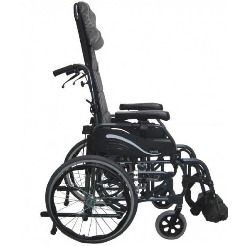 Side view of Karman VIP-515 Tilt In Space Wheelchair
