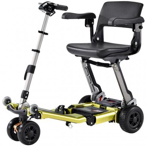 Yellow Luggie Elite Plus 3 Scooter