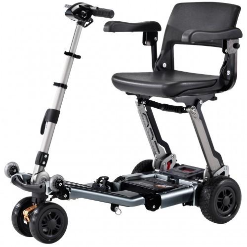 Grey Luggie Elite Plus 3 Scooter