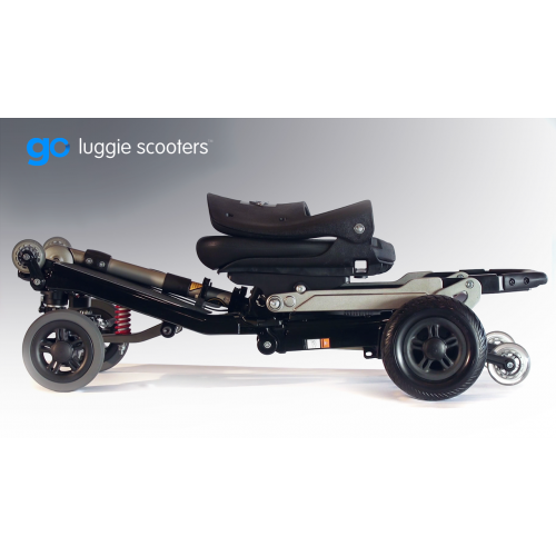 Folded Luggie Elite Plus 3 Scooter