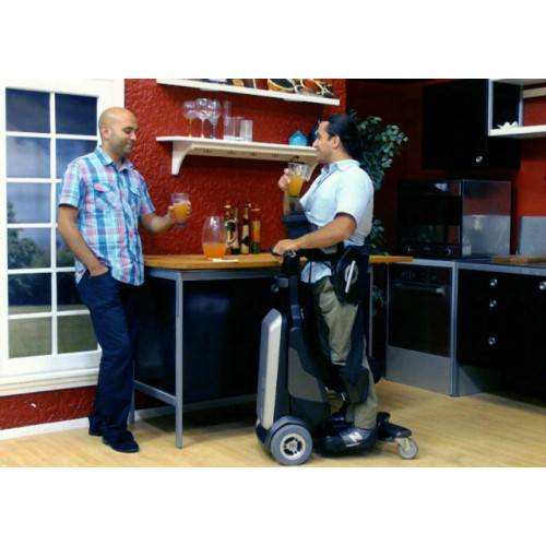 Man standing on a Matia Robotics TEK RMD