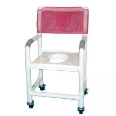 MJM International Shower Chair and Commode