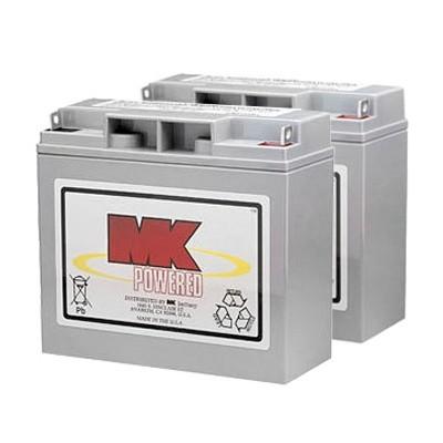 MK Battery 12V 17AH Sealed Lead Acid (Pair)