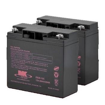 MK Battery 12V 20AH Sealed Lead Acid (Pair)