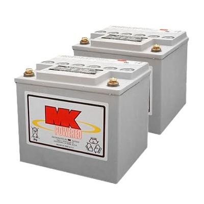 MK Battery 12V 40AH Sealed Gel (Pair)