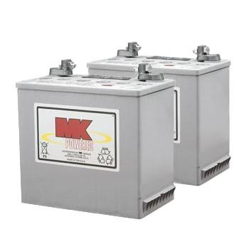 MK Battery 12V 50AH Sealed Gel (Pair)