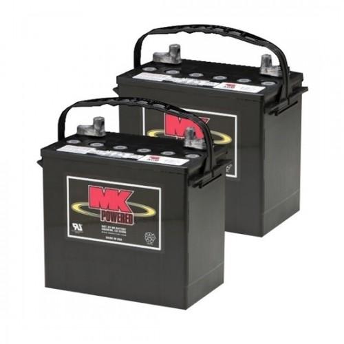 MK Battery 12V 55AH Valve-Regulated Lead Acid (Pair)
