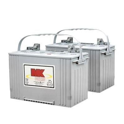 MK Battery 12V 88AH Sealed Gel (Pair)