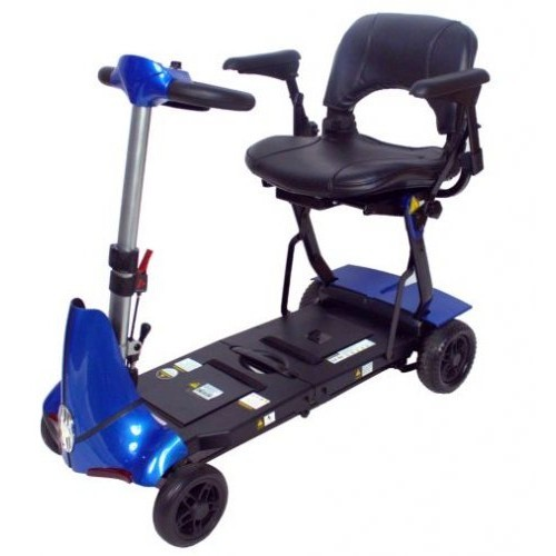 Blue Mobie Plus Folding Scooter