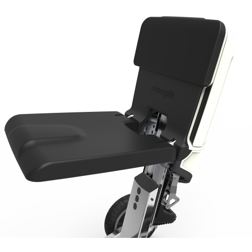 Seat of Moving Life ATTO Folding Mobility Scooter