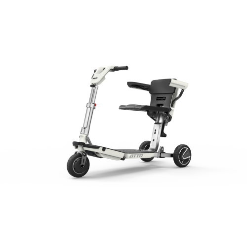 White Moving Life ATTO Folding Mobility Scooter