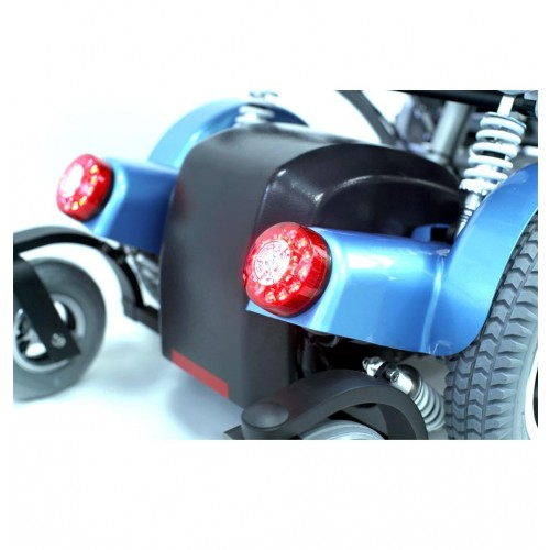 Back Lights of Karman XO-505 Standing Wheelchair w/ Multiple Power Functions