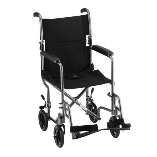 """Silver Nova 19"""" Lightweight Transport Chair"""