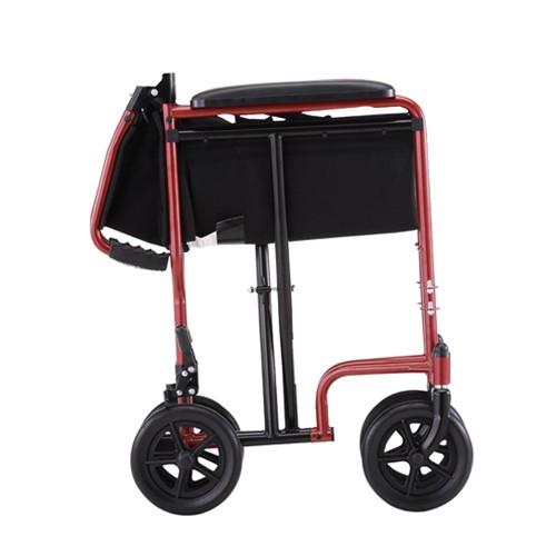 "Folded Nova 19"" Lightweight Transport Chair"