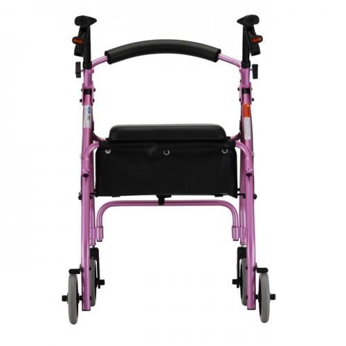 Pink Nova GetGo Classic Rollator