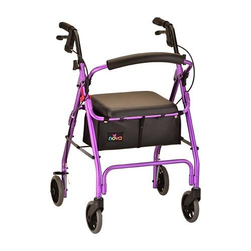 Purple Nova GetGo Classic Rollator