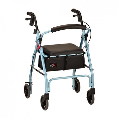 Baby Blue Nova GetGo Classic Rollator