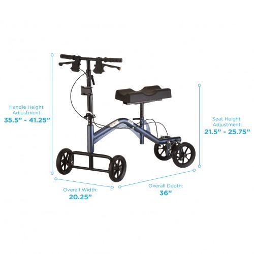 Specifications of Nova Heavy Duty Knee Walker Tall