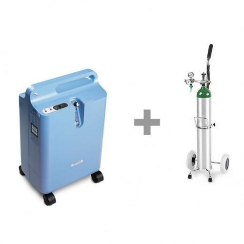 5 Liter Oxygen Concentrator & Cylinder Package Rental