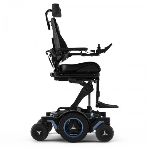 Side view of Permobil M5 Corpus Mid Wheel Power Wheelchair