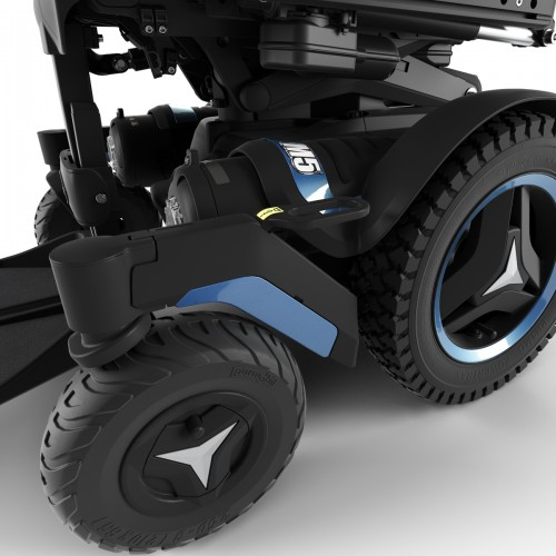 Wheels of Permobil M5 Corpus Mid Wheel Power Wheelchair
