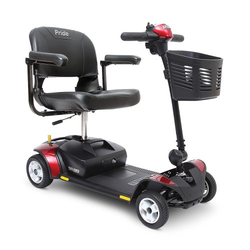 Pride Go-Go Elite Traveller 4-Wheel Mobility Scooter