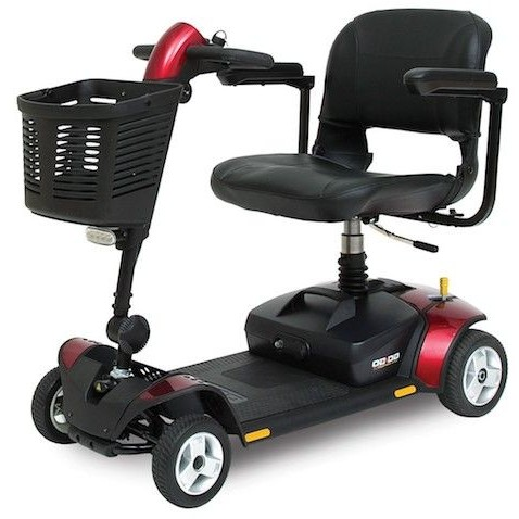 Red Pride Go-Go Elite Traveller 4-Wheel Mobility Scooter