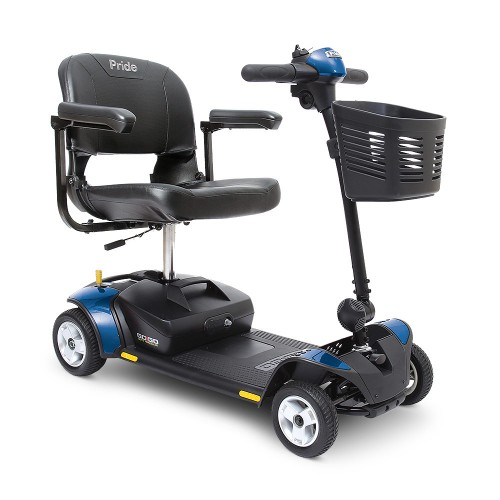 Blue Pride Go-Go Elite Traveller 4-Wheel Mobility Scooter
