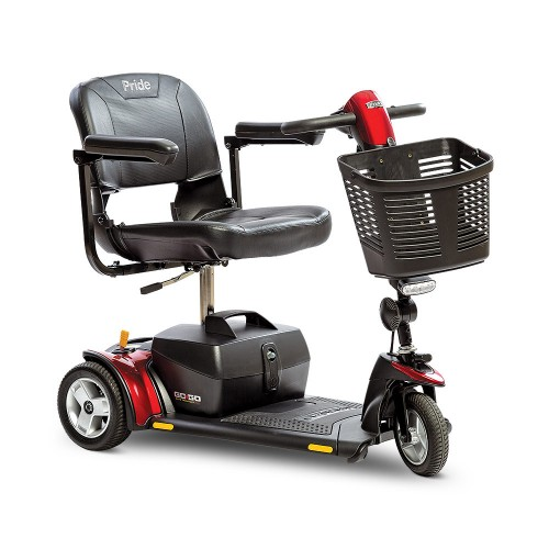 Pride Go-Go Elite Traveller Plus 3-Wheel Mobility Scooter