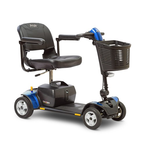 Pride Go-Go Elite Traveller Plus 4-Wheel Mobility Scooter