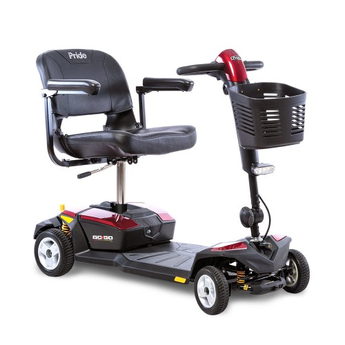 Pride Go-Go LX 4-Wheel Mobility Scooter with CTS Suspension
