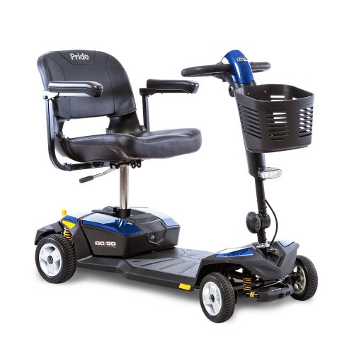 Blue Pride Go-Go LX 4-Wheel Mobility Scooter with CTS Suspension
