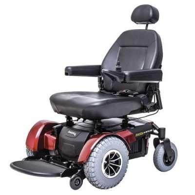 Red Pride Jazzy 1450 Heavy Duty Power Wheelchair
