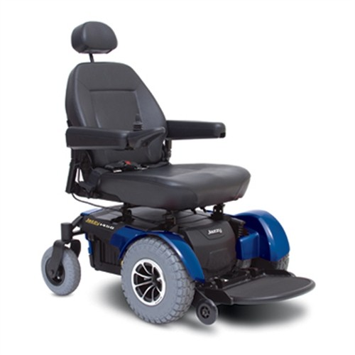 Blue Pride Jazzy 1450 Heavy Duty Power Wheelchair