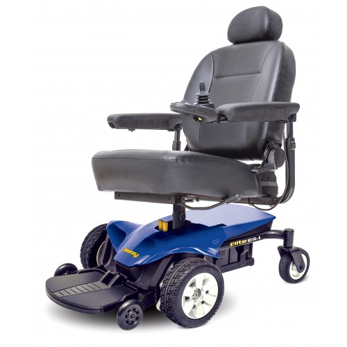 Blue Pride Jazzy Elite ES Power Wheelchair