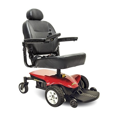 Red Pride Jazzy Elite ES Power Wheelchair