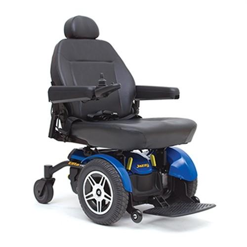 Blue Pride Jazzy Elite HD Power Wheelchair