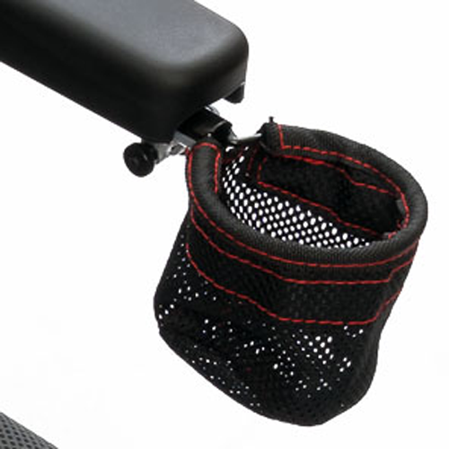 Cup holder of Pride Jazzy Passport Folding Travel Power Wheelchair