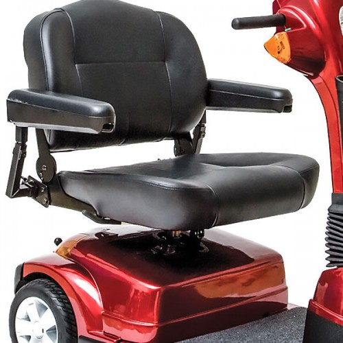 Seat on Pride Maxima 3 Wheel Mobility Scooter HD
