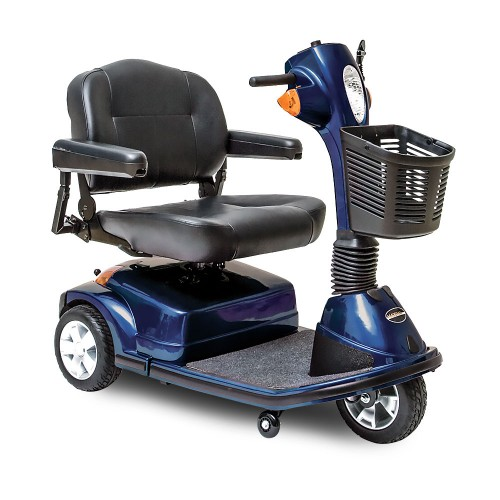 Blue Pride Maxima 3 Wheel Mobility Scooter HD