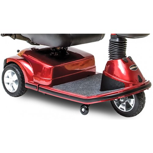 Wheels on Red Pride Maxima 3 Wheel Mobility Scooter HD