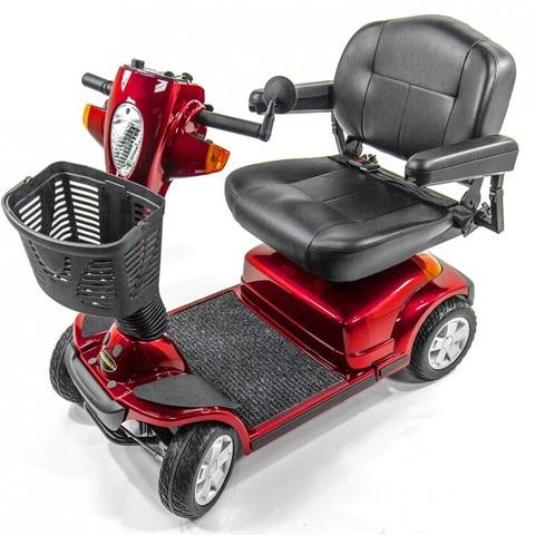 Red Pride Maxima 4 Wheel Mobility Scooter