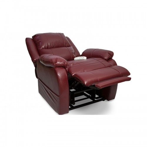 Red Pride Mobility Essential LC-455 3-Position Lift Chair with Extended Footrest and Headrest