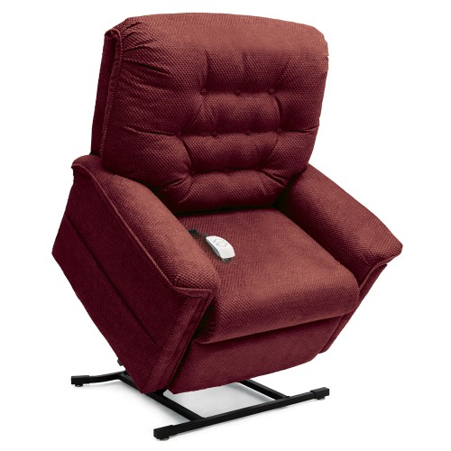 Maroon Pride Mobility Heritage LC-358 3-Position Lift Chair